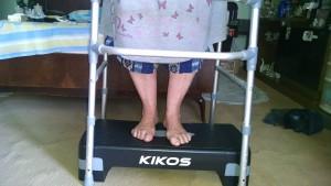 Fisioterapia Domiciliar em Salvador - Treino com degrau